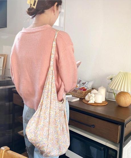 simple v neck cardigan (3colour)