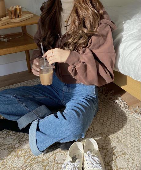 《予約販売》wool lining cropped parker (3color)