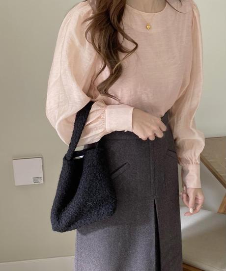 《予約販売》poodle mini  bag (3color)