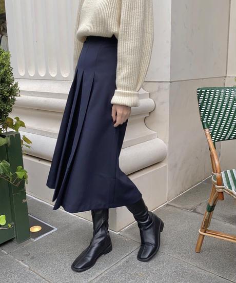 《予約販売》square socks long boots (2color)