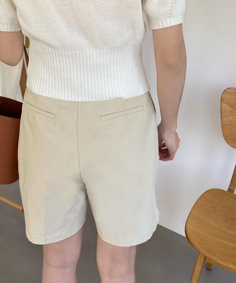 《予約販売》quiche half chino pants (3color)