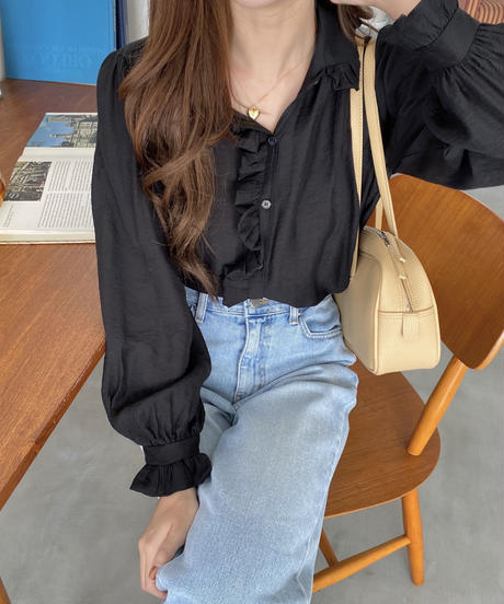 《予約販売》angel blouse (3color)