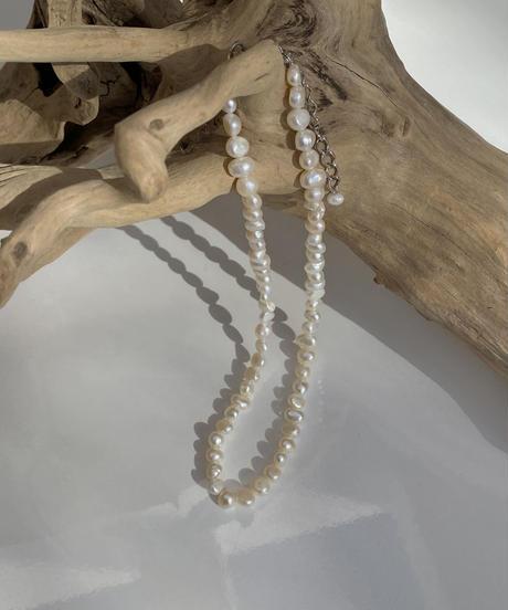 《予約販売》freshwater pearl necklace