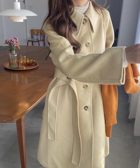 《予約販売》wool 90% single handmade coat