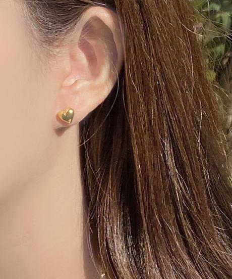 《予約販売》silver925 heart pierce (2color)