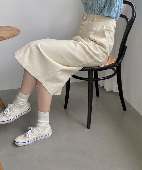 《予約販売》corduroy long skirt (3color)