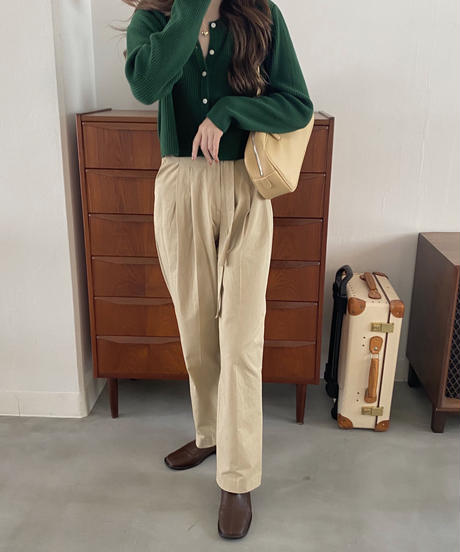 《予約販売》ribbon chino pants (2color)