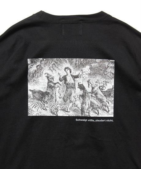 リフレクターロゴロングスリーブTシャツ