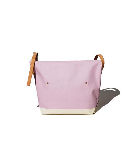 Sunset Craftsman Co. / Pine Shoulder Bag (S) / M&S Original Pink x Milk