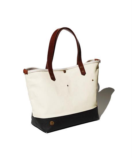 Sunset Craftsman Co. / Tomales Tote Bag (M) / Milk x Black Berry
