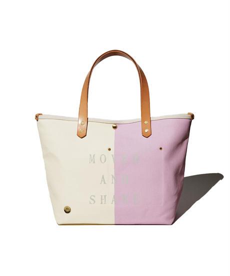 Sunset Craftsman Co. / Tomales Tote Bag (M) / Milk x M&S Original Pink