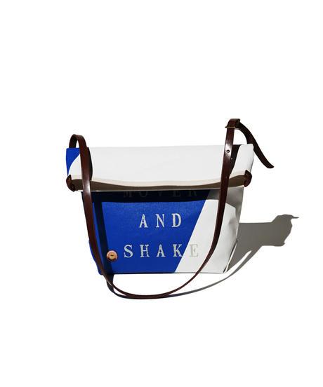 Sunset Craftsman Co. / Pine Shoulder Bag (S) / TFD®︎ Blue x White