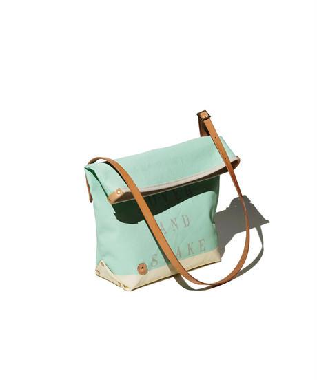 Sunset Craftsman Co. / Pine Shoulder Bag (S) / M&S Green x Milk