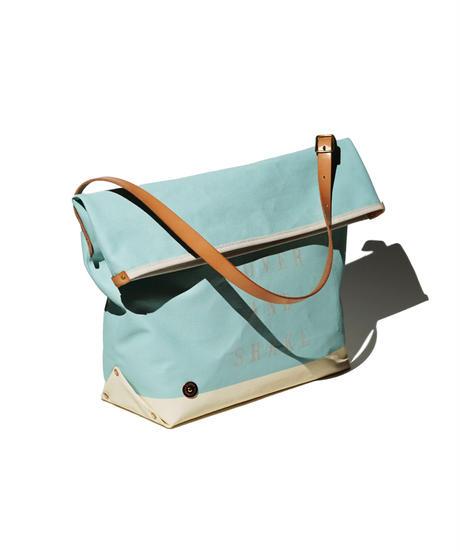 Sunset Craftsman Co. / Pine Shoulder Bag (M) / M&S Original Blue x Milk