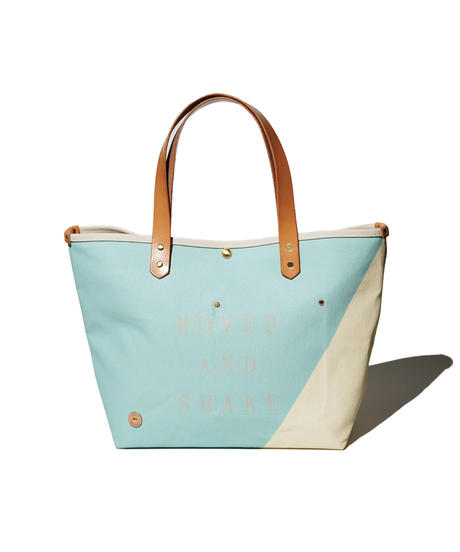 Sunset Craftsman Co. / Tomales Tote Bag (M) / M&S Original Blue x Milk