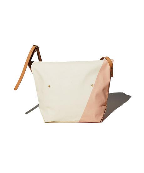 Sunset Craftsman Co. / Pine Shoulder Bag (S) / M&S Original Orange x Milk