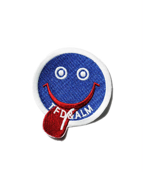 ALM  × TFD®︎ /  Smiley Patch 2 - Blue