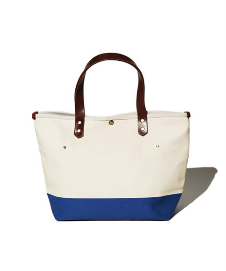 Sunset Craftsman Co. / Tomales Tote Bag (M) / Milk x Blue