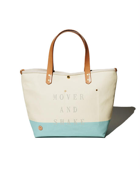 Sunset Craftsman Co. / Tomales Tote Bag (M) / Milk x M&S Original Blue