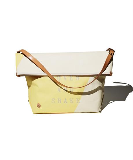 Sunset Craftsman Co. / Pine Shoulder Bag (M) / M&S Original Yellow x Milk