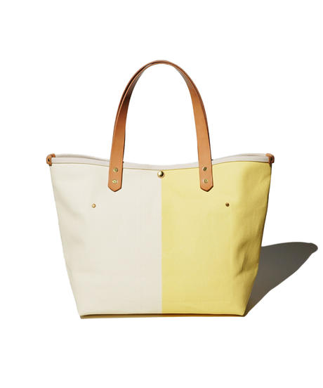Sunset Craftsman Co. / Tomales Tote Bag (M) / M&S Original Yellow x Milk