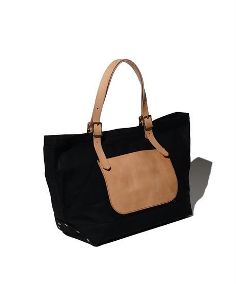 Sunset Craftsman Co. / Octavia Fine Tote Bag / Black