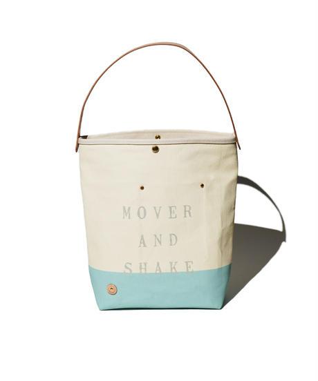 Sunset Craftsman Co. / One Handle Tote Bag (M) / Milk x M&S Original Blue