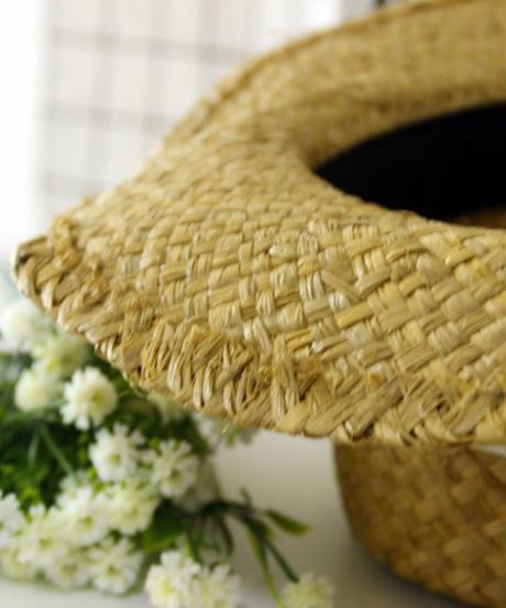 ファッション帽子(つば広)