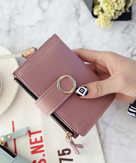 手のひらサイズのミニ財布  お札と小銭を仕分け可能 名入れ刻印