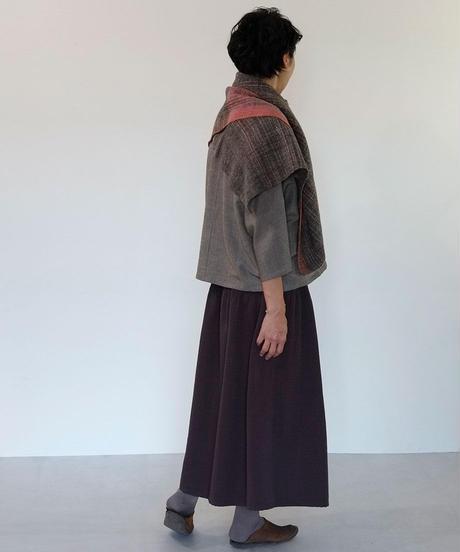 kotiスカート ウール パープル 6902wPu