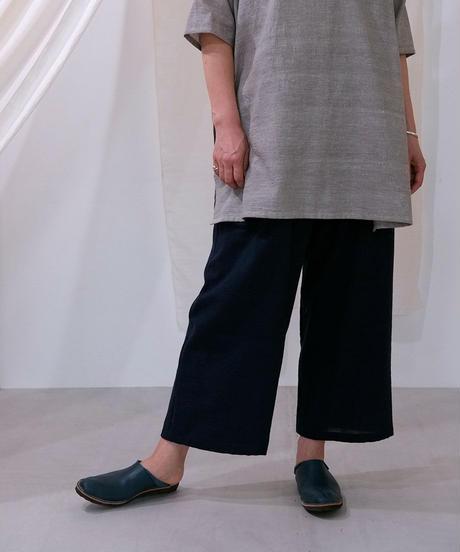 カディ パンツタックポケット 紺 K6854DB