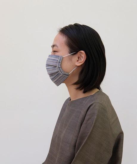 MAKIのひだマスク  カディ綿