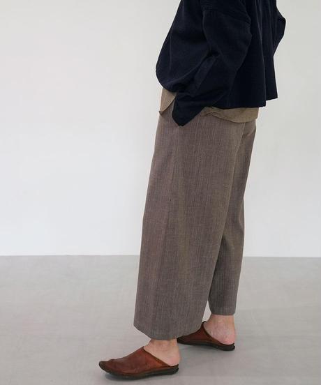 パンツ yoke long 綿タビー グレー 6840Ct