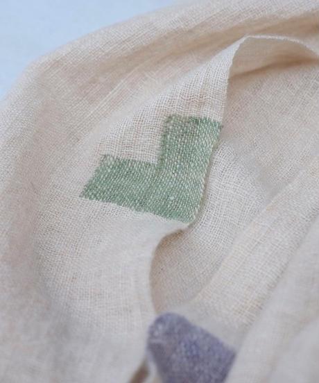 マフラー ピュアパシミナ つづら織り color ナチュラル 4209N