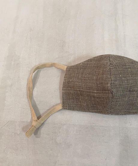 MAKIのマスク  織り生地