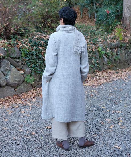 ふくふくマフラー ぷつぷつ グレー 4027G
