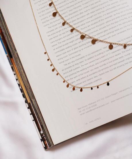 Bohemian drop necklace