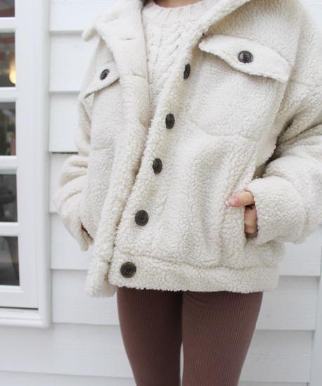[LAST1点] Boa Jacket