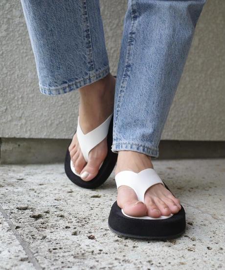 Platform  tongs Sandal