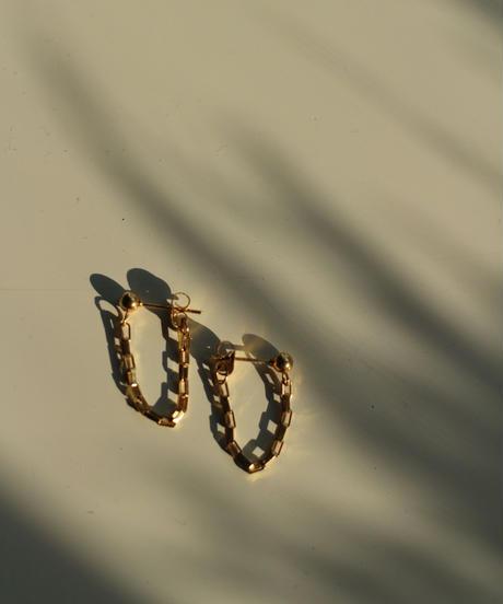 18k Chain Pierce Gold