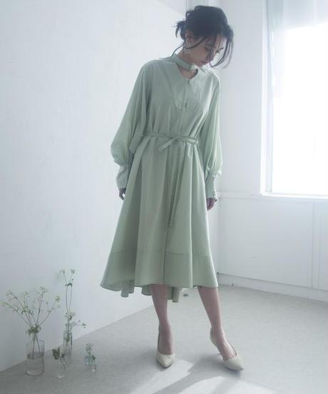 lawn basic shirt one-piece (light green) <20as-on-01-lg>