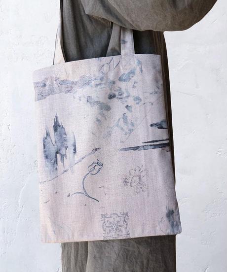 rusty blue  tote bag <20ss-ac-03>