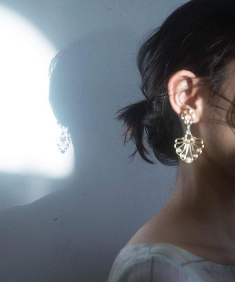 chandelier series vol.5 pierce & earring (brass)