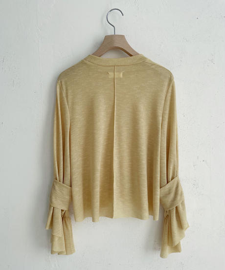 lib band sleeve cut and sewn (mimosa) <21sp-to-02-mi>