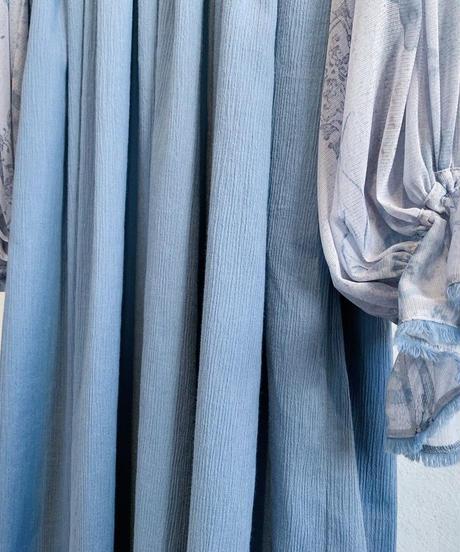rusty blue high waist one-piece