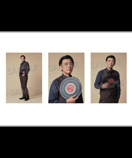 舞台「ラストレインフィッシュ」RUST RAIN FISH Team Black 谷口賢志 パネル3枚1組(単品)