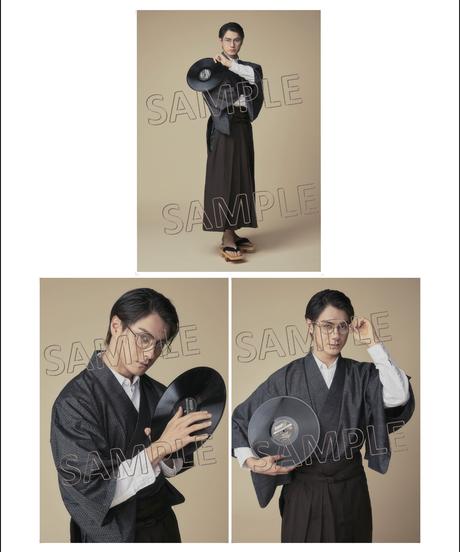 舞台「ラストレインフィッシュ」RUST RAIN FISH Team White 松村龍之介 パネル3枚1組(単品)