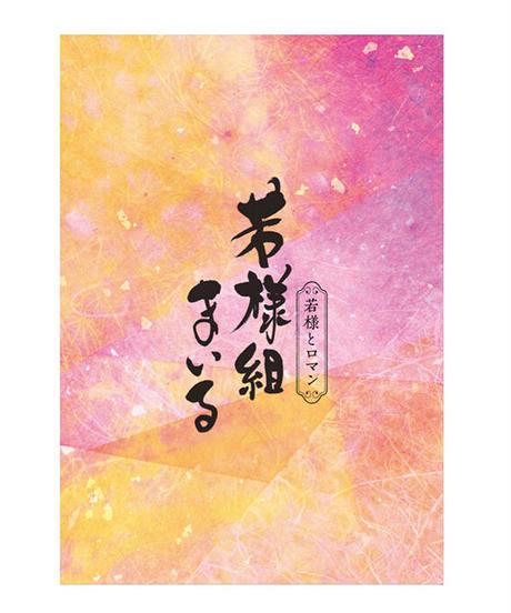舞台「若様組まいる~若様とロマン~」DVD + パンフレットセット