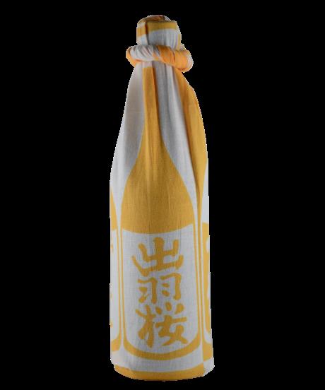 出羽桜 手ぬぐい(黄)