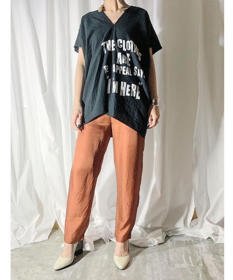 cupra easy-pants  (brown)